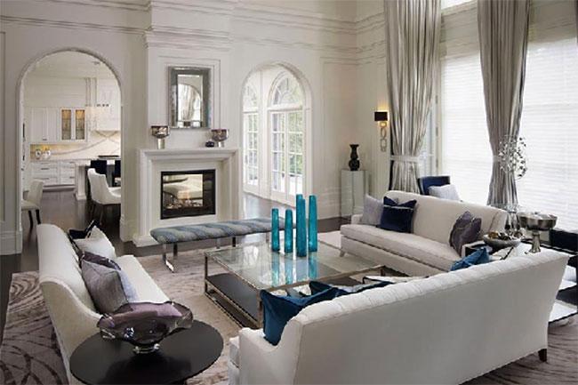 thiết kế nội thất phong cách tân cổ điển cho người thích sự sang trọng