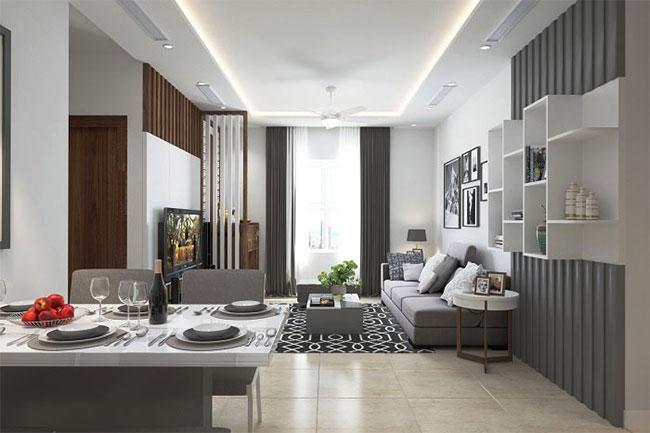 thiết kế nội thất tối đa hóa không gian