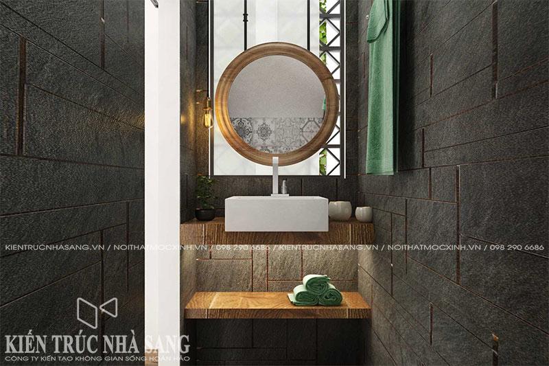 mẫu nhà vệ sinh phong cách