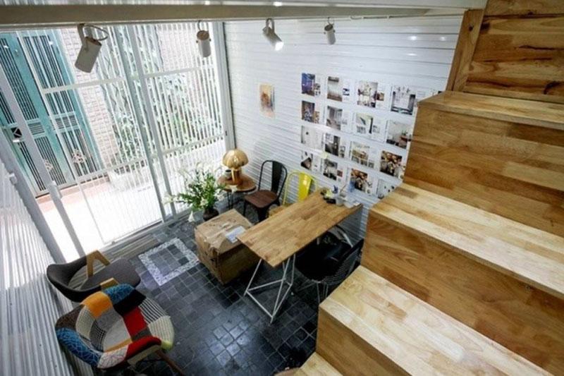 mẫu thiết kế nội thất nhà 19m2