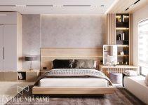 mẫu thiết kế nội thất phòng ngủ hiện đại nhà phố 5 tầng
