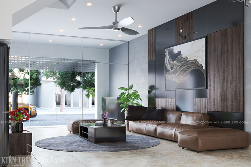 thiết kế nội thất nhà 4 tầng hiện đại