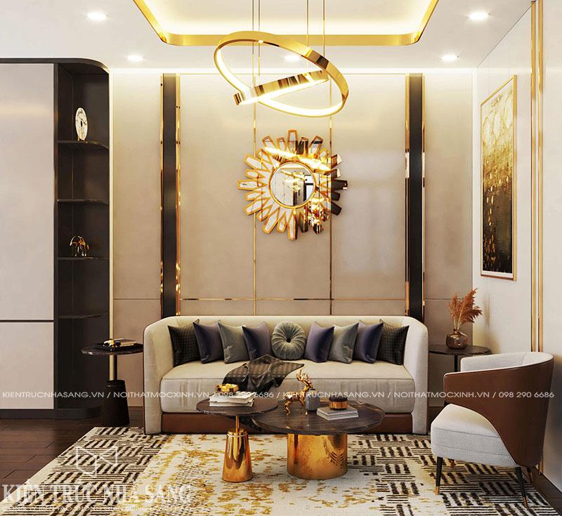 mẫu nội thất phong cách luxury hiện đại