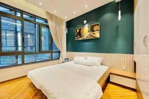mẫu phòng ngủ hiện đại nhà 4.5x9m