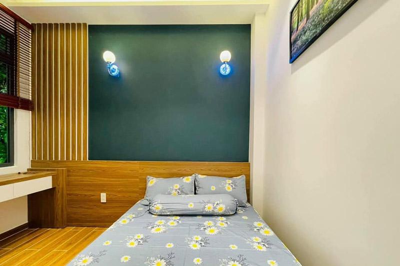 mẫu phòng ngủ nhỏ hiện đại nhà 4.5x9m