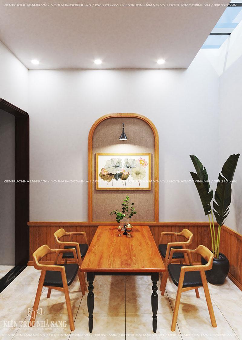 mẫu thiết kế nội thất bếp nhà phố 40m2