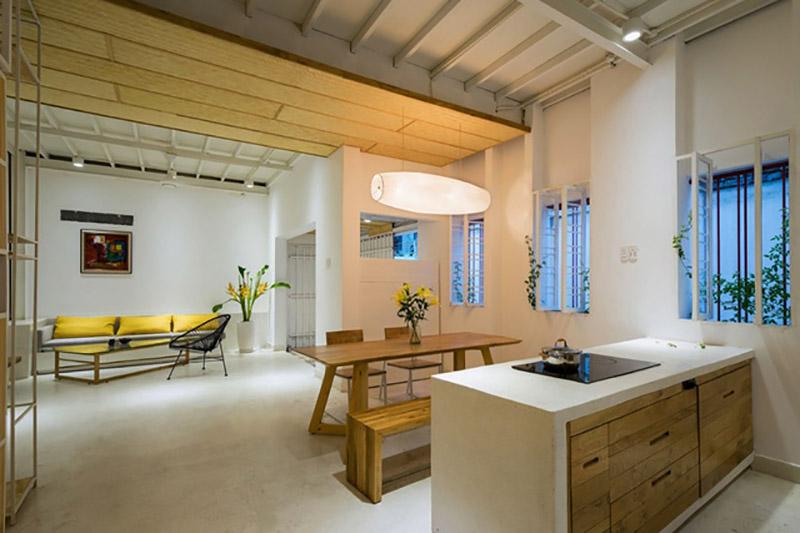 mẫu thiết kế nội thất nhà 1 tầng