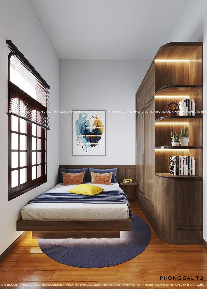 nội thất phòng ngủ nhỏ nhà 40m2