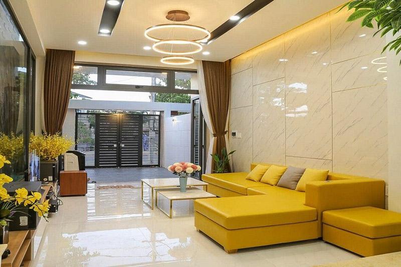 thiết kế nội thất nhà 1 tầng
