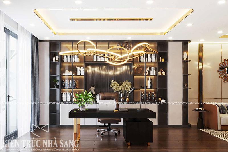 thiết kế thi công nội thất luxury 50m2 hiện đại sang trọng